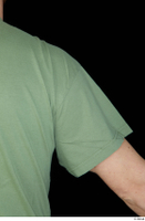 Victor arm army dressed green t shirt shoulder upper body 0003.jpg