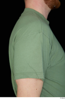 Victor arm army dressed green t shirt shoulder upper body 0004.jpg