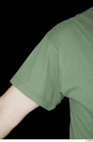 Victor arm army dressed green t shirt shoulder upper body 0005.jpg
