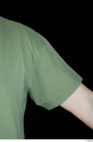 Victor arm army dressed green t shirt shoulder upper body 0006.jpg