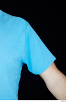 Victor arm blue t shirt dressed shoulder upper body 0002.jpg