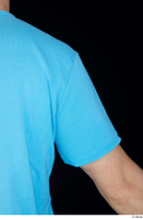 Victor arm blue t shirt dressed shoulder upper body 0005.jpg