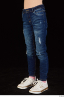 Timea dressed jeans leg lower body 0002.jpg