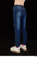 Timea dressed jeans leg lower body 0004.jpg