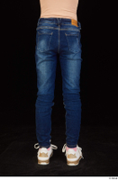 Timea dressed jeans leg lower body 0005.jpg