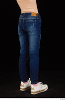 Timea dressed jeans leg lower body 0006.jpg