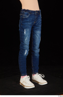 Timea dressed jeans leg lower body 0008.jpg