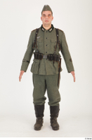 German army uniform World War II. army soldier standing uniform whole body 0001.jpg