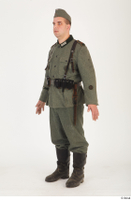 German army uniform World War II. army soldier standing uniform whole body 0002.jpg