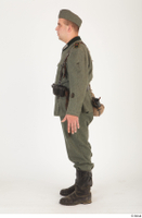 German army uniform World War II. army soldier standing uniform whole body 0003.jpg