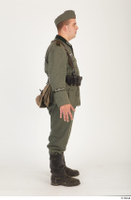 German army uniform World War II. army soldier standing uniform whole body 0007.jpg