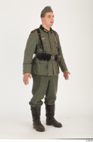 German army uniform World War II. army soldier standing uniform whole body 0008.jpg