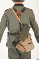 German army uniform World War II. army gas mask tin container soldier uniform upper body 0002.jpg