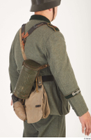 German army uniform World War II. army gas mask tin container soldier uniform upper body 0003.jpg