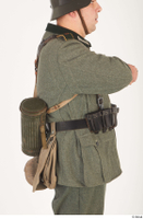German army uniform World War II. army gas mask tin container soldier uniform upper body 0004.jpg