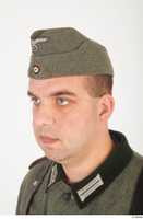 German army uniform World War II. army cap head soldier uniform 0002.jpg