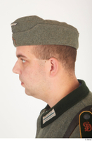 German army uniform World War II. army cap head soldier uniform 0003.jpg