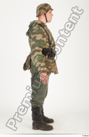 German army uniform World War II. ver.2 army camo camo jacket soldier standing uniform whole body 0007.jpg