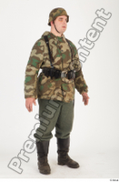 German army uniform World War II. ver.2 army camo camo jacket soldier standing uniform whole body 0008.jpg