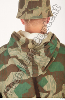 German army uniform World War II. ver.2 army camo camo jacket soldier uniform upper body 0010.jpg