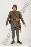 Austria-Hungary army uniform World War I. ver.1 army soldier standing whole body 0001.jpg
