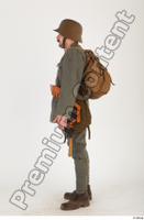 Austria-Hungary army uniform World War I. ver.1 army soldier standing whole body 0003.jpg