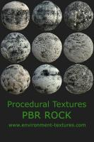 PBR texture of rocks - 9pack