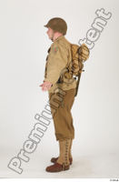 U.S.Army uniform World War II. army jacket soldier standing whole body 0003.jpg
