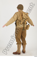U.S.Army uniform World War II. army jacket soldier standing whole body 0004.jpg
