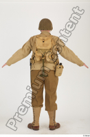 U.S.Army uniform World War II. army jacket soldier standing whole body 0005.jpg
