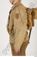U.S.Army uniform World War II. arm army jacket soldier upper body 0001.jpg