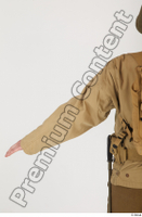 U.S.Army uniform World War II. arm army jacket soldier upper body 0002.jpg