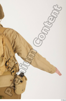 U.S.Army uniform World War II. arm army jacket soldier upper body 0003.jpg