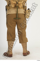 U.S.Army uniform World War II. army leg lower body soldier 0005.jpg