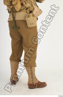 U.S.Army uniform World War II. army leg lower body soldier 0006.jpg