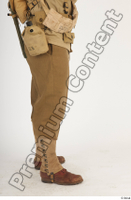 U.S.Army uniform World War II. army leg lower body soldier 0007.jpg
