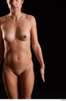 Charity  1 arm flexing front view nude 0001.jpg