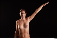 Charity  1 arm flexing front view nude 0004.jpg