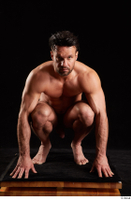 Larry Steel  1 kneeling nude whole body 0001.jpg