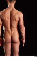 Larry Steel  1 arm back view flexing nude 0001.jpg