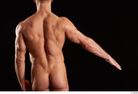 Larry Steel  1 arm back view flexing nude 0002.jpg