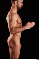 Larry Steel  1 arm flexing nude side view 0004.jpg