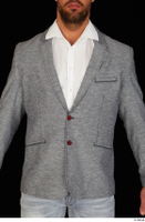 Larry Steel business dressed grey suit jacket upper body 0001.jpg