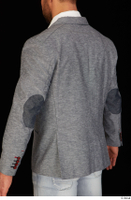 Larry Steel business dressed grey suit jacket upper body 0004.jpg