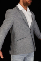 Larry Steel business dressed grey suit jacket upper body 0008.jpg