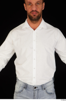 Larry Steel business dressed upper body white shirt 0001.jpg