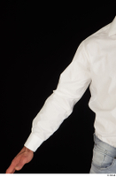 Larry Steel arm business dressed upper body white shirt 0001.jpg