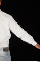 Larry Steel arm business dressed upper body white shirt 0005.jpg