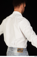 Larry Steel business dressed upper body white shirt 0006.jpg