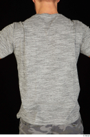 Larry Steel casual dressed grey t shirt upper body 0005.jpg